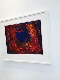 3/4. Visite de la Fiac 2014. Look at this frame ! C'est toujours Anish Kapoor à la Fiac 2014. Voir photo suivante. @fiacparis @GrandPalaisRMN @Lisson