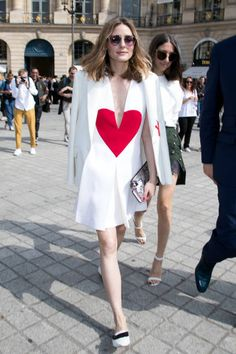 Olivia Palermo attends the Schiaparelli Haute Couture Fall/Winter 20172018 show as part of Paris Fashion Week on July 3 2017 in Paris France