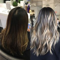 Hairstyles and Beauty: The Internet`s best hairstyles, fashion and makeup pics are here. Highlights For Dark Brown Hair, Balayage Hair Blonde, Brown Blonde Hair, Brunette Hair, Hair Highlights, Dark To Light Hair, Dark Hair, Hair Fixing, Gorgeous Hair
