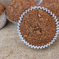 The Cinnamon Sugar topping on these Banana Muffins throw them over the top!