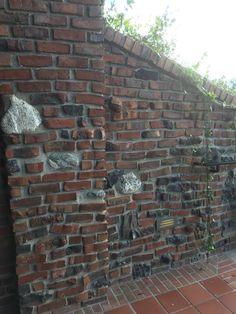 Clinker Brick Wall At The Lodge Torrey Pines