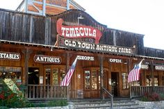 Old Town Temecula has great antique shopping and wine gifts. Drink + shop! #MyHomeTownPins