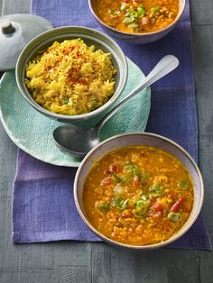 Rote Linsen-Curry