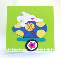 Easter egg card.
