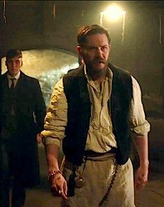 GIF: Tommy as Alfie Solomons & Cillian Murphy - Peaky Blinders (TV Series 2013-) / TH0081