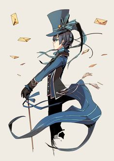 Kuroshitsuji - Ciel Phantomhive: anime, manga, black butler, Victorian fashion