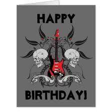 Resultado de imagem para feliz aniversário rock n roll