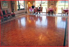 dance floors for restaurants