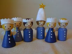 peg doll tutorial - these girls make me think of Madeline!