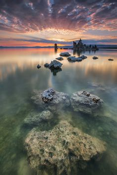 Sunrise Galore - SUNRISE GALORE | Mono Lake, July 2014 | by Edwin Martinez on 500px