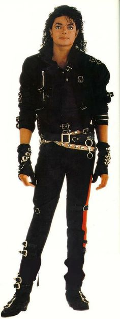 michael jackson bad outfit
