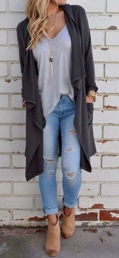 Pin by Liz Wolman on Clothes Autumn fashion women fall outfits casual fall outfits 2018 - Casual Outfit Autumn Fashion Women Fall Outfits, Fall Outfits 2018, Trendy Fall Outfits, Casual Fall Outfits, Fall Fashion Trends, Fashion Week, Fashion Ideas, Fashion Guide, Outfit Winter