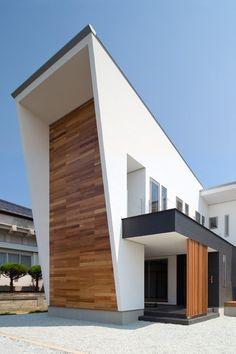 """""""K5-House"""" @ Kurume, Japan (by Masahiko Sato):"""
