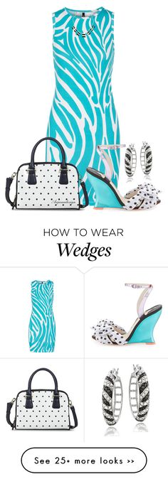 """DOTS & STRIPES"" by arjanadesign on Polyvore"