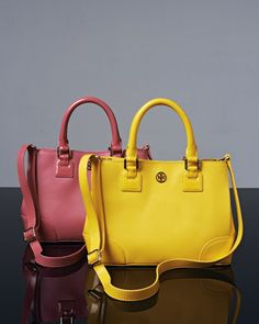 Robinson Mini Square Tote Bag by Tory Burch at Neiman Marcus