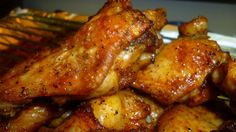 Cajun Wings I stumbled upon this recipe because I wanted a different taste for my wings on game days. Needless to say, now, it's all my game day gang anticipate when it's my turn to host a Sunday. You gotta love them and these wings! Creole Recipes, Cajun Recipes, Turkey Recipes, Cooking Recipes, Cooking Games, Haitian Recipes, Louisiana Recipes, Donut Recipes, Baked Chicken Wings