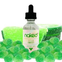 Sour Sweet E Liquid by Naked E Liquid presents an irresistibly refreshing lime infused soft candy covered in the perfect blend of sweet sugar and sour sugar. Sour Sweet E Liquid is VG/PG in Nicotine levels of and