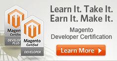 Magento eCommerce software.