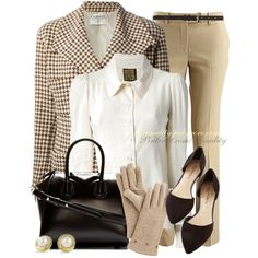 """Givenchy + Chanel + MK + Modcloth Classy Vintage"" by casuality on Polyvore"