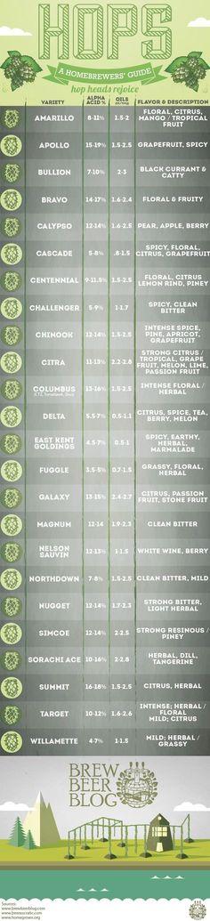 """Hops: A Homebrewers' Guide www.LiquorList.com """"The Marketplace for Adults with Taste!"""" @LiquorListcom #LiquorList.com"""
