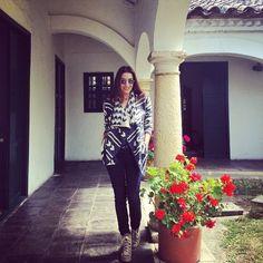 Fin de semana en casa! #lookdeldia — in Colombia.