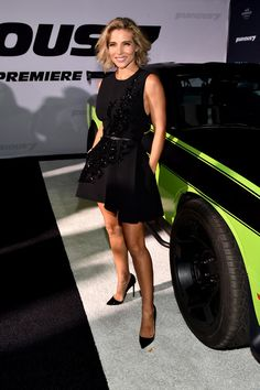 """Actress Elsa Pataky attends Universal Pictures' """"Furious 7"""" premiere at TCL Chinese Theatre on April 1, 2015 in Hollywood, California."""