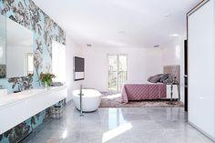 Clawfoot Bathtub, Corner Bathtub, Wall Tiles, Villa, Bathroom, House, Stockholm, Decor, Room Tiles