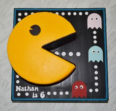 Pacman cake by Shelle's Bakes                                                                                                                                                                                 More