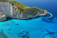 Epic sea cliffs: Zakynthos #cliffs #nature #photography