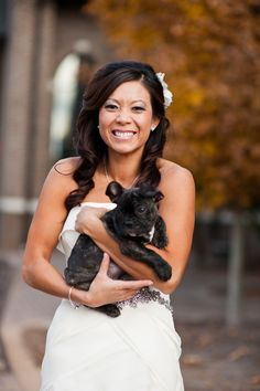 Including pets on your wedding day. Jessica Wright Photography