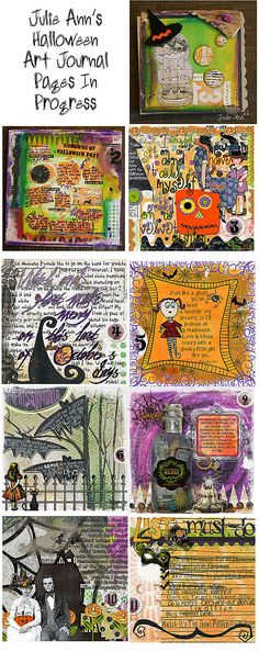 Art Journaling 101: Halloween and Fall Art Journaling Inspiration