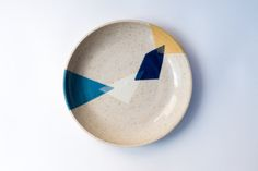stoneware dish by turbotDesign on Etsy