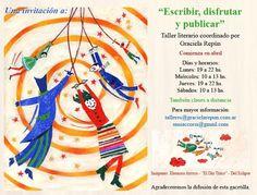 Taller literario, coordinado por Graciela Repún. Por Gabriela Mariel Arias.