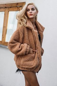 Search For Flights Fashion Winter Women Imitation Fox Fur Coat Pu Leather Long Sleeve Jacket Keep Warm Outwear Lady Casual Overcoat S-3xl H Modern Techniques Faux Fur