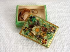Boîte à bijoux en porcelaine Porcelaine ancienne par VintageSyell
