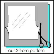Pants/shorts sewing pattern - free PDF!