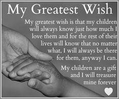 Daveswordsofwisdom.com: My Greatest Wish