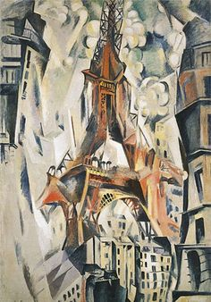 Robert Delaunay (1885-1941), Eiffel Tower, 1911 on ArtStack #robert-delaunay-1885-1941 #art