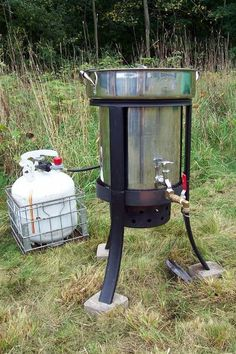 Turn a Turkey Fryer Into a Portable Hot Water Heater