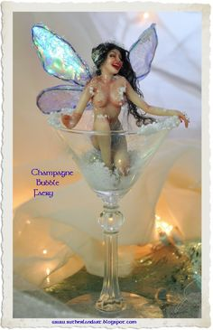 Champagne Bubble Fairy by Jennifer Sutherland