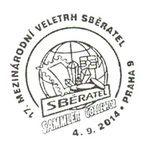 Sberatel Prag http://d-b-z.de/web/2014/09/06/messe-sammler-in-prag-sonderstempel/