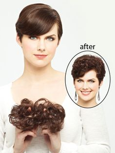 Sky hairpiece from Revlon Wigs - This hair enhancer can be blended with your own hair to add amazing volume to your existing hair style. It is an hair integration that is easily added to your own hair creating fuller thicker looking hair.