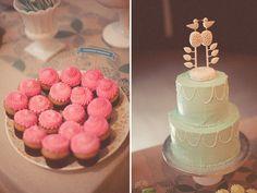 Desserts in Muted Shades