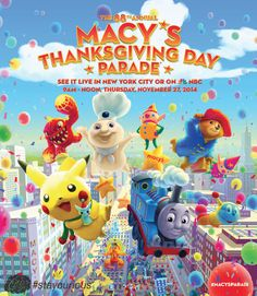 The Macy's Thanksgiving Day Parade started in 1924 https://curionic.com/blog/the-macys-thanksgiving-day-parade-started-in-1924?utm_content=buffer67ce0&utm_medium=social&utm_source=pinterest.com&utm_campaign=buffer #staycurious #facts #fact
