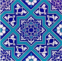 Buy now affordable Turkish ceramic wall tiles for bathroom or kitchen. Quickly and safely shipped to your home. Islamic Motifs, Islamic Tiles, Islamic Art Pattern, Pattern Art, Turkish Plates, Patterned Wall Tiles, Ceramic Tile Art, Fireclay Tile, Kitchen Wall Tiles