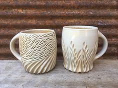 Tried out some cone6 clay in the cone10 woodkiln and it seems to have held up... I love how delicate...