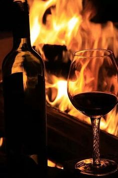 What a combination! Fire & Wine