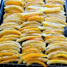Candied Orange Peel.