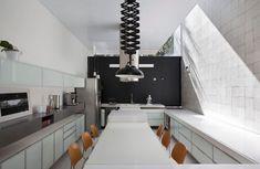 Moderna cocina - comedor