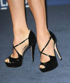 High Heels Shoes Fashion: black stilettos